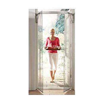 Hossis Wholsale Mosquitera de Puerta con sensores de Movimiento automática – Abre y Cierra automáticamente (en Movimiento): Amazon.es: Hogar