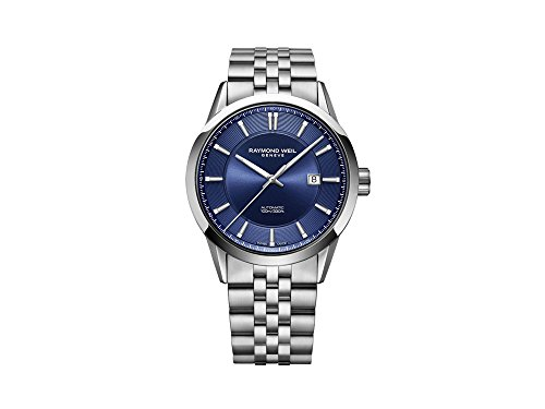 Raymond Weil Freelancer Automatik Uhr, 42 mm, Blau, Edelstahl, 2731-ST-50001