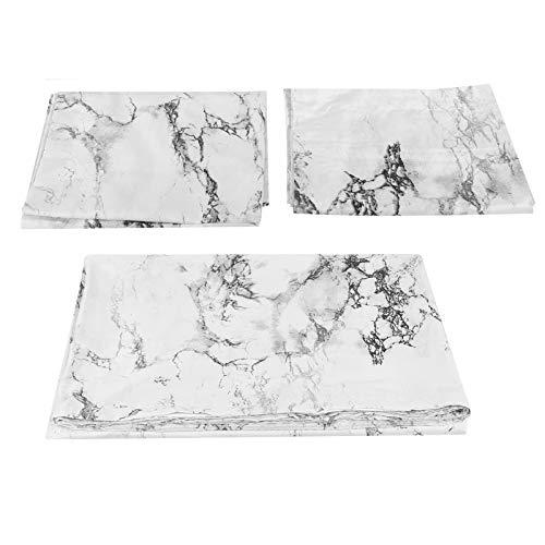 zcyg Home Bedding - Juego de cama de mármol impreso (poliéster, funda de edredón de 220 x 240 cm), diseño de funda de edredón y 2 fundas de almohada