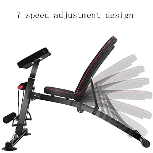 COLOM Weight Bench Adjustable Weight Bench-Utility Gym Bench for Full Body Workout, Multi-Purpose Foldable Incline Decline Benchs Weight Bench Adjustable