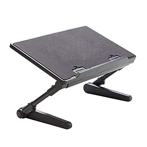 FGDSA Soporte Ajustable para computadora portátil Bandeja de Cama portátil Soporte de Libro Soporte Vertical para Tableta para Escritorio Cama Sofá Sofá Piso