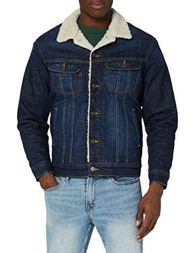 Lee Sherpa Jacket Chaqueta Vaquera, Deep Kansas, S para Hombre