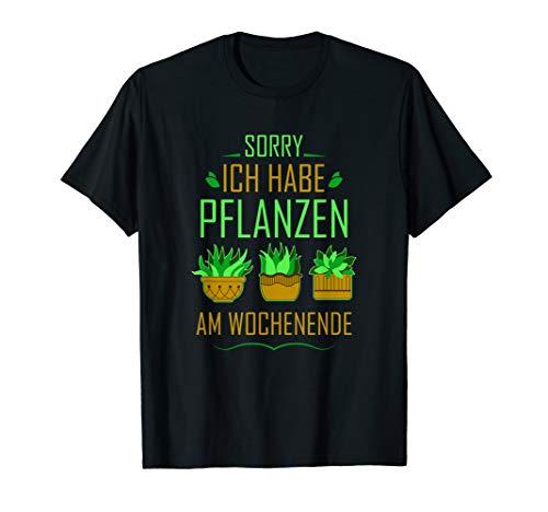 Garten Hobbygärtner Pflanze Säen Wasser Wachsen Geschenk T-Shirt