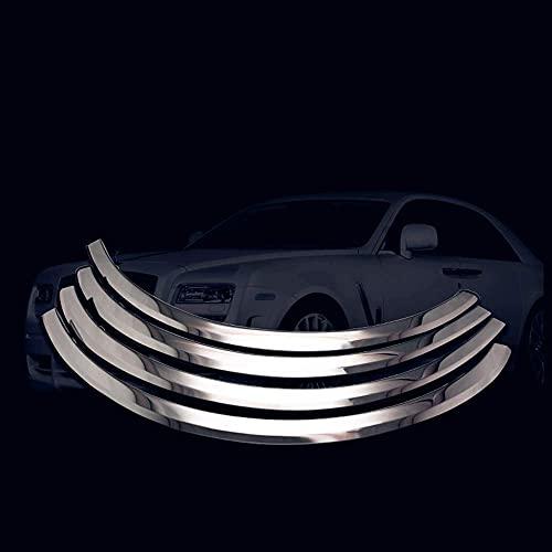 LYYBABY Auto Delantero Trasero Guardabarros Solo para Peugeot 408 Sedan 2010-2015 Guardabarros Individual Coche Juego Completo de Guardabarros con Tornillos de Montaje