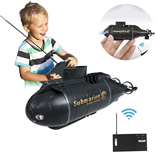 Ridecle Fernbedienungsschiff, Mini RC U-Boot Fernbedienungsboot Smart Electric U-Boot Boot Simulation Tauchspielzeug für Kinder