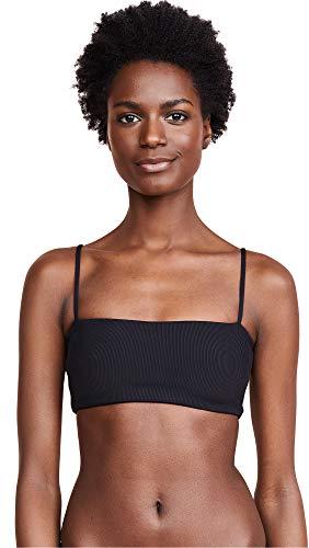 LSpace Women's Rebel Bikini Top, Black, Large