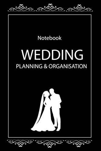 wedding planning & organization notebook 6x9 gift: Lined notebook/Journal gift.120 pages, 6x9, soft cover, glossy finish