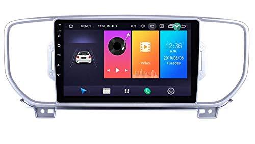 LINNJ Android per KIA KX5 Sportage 2016 2017 Android 9 Autoradio Navigatore per Auto Stereo per Auto Display Touch da 9 Pollici Navigatore GPS per Auto