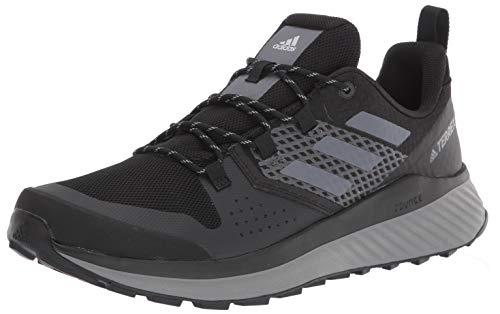 adidas Men's Terrex Folgian Hiker Hiking Boot, Black Grey, 10.5 M US