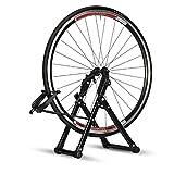 Soporte de rueda de bicicleta, soporte de reparación de bicicletas mecánico casero para herramienta de reparación de bicicletas