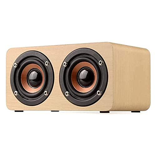 WGHH Altavoz Bluetooth, Altavoz Bluetooth portátil, Sonido estéreo y Bajos Profundos, Sonido Envolvente Completo de 360 °, Bluetooth 4.0, Soporte TF Tarjeta/AUX, Muy Adecuado para la Familia, al a