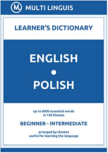 English-Polish (the Theme-Arranged Learner's Dictionary, Steps 1 - 4) (English Edition)