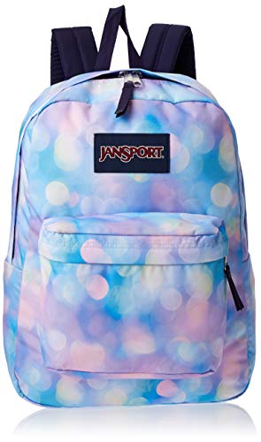 JanSport SuperBreak Backpack - Lightweight School Pack, City Lights