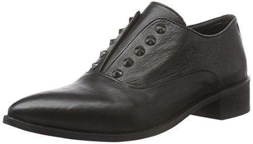 Black Lily Rida Shoes, Mocassino Donna, Nero, 41 EU