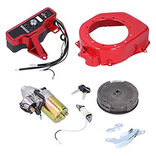 Piezas de motor de gasolina, motor de gasolina de baja vibración Disipación de calor con desgaste: cubierta del volante para motores de gasolina para generadores