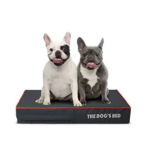 The Dog's Bed, Letto ortopedico per cani in memory foam, impermeabile