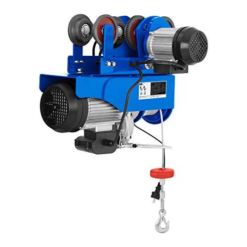 MSW - Laufkatze PROCAT 1200 - bis zu 990 kg Hebeleistung - Stromaufnahme 230V/7,8 Ampere - Elektromotor mit 1800 Watt - Kabelzugentlastung