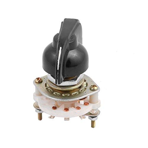 X-DREE KCX2 * 3 2 Poste 3 Posición 8 Interruptor rotativo de canal de banda de terminales con tapa (fba52e3a1d0a898ad7fab2ae5287c82e)