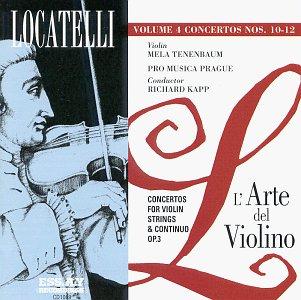 L'Arte Del Violino 4 [Audio CD] Locatelli, Pietro Antonio; Richard Kapp e Pro Musica Praga