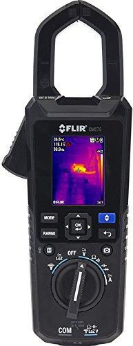 FLIR CM275 Industrie-Stromzange mit Wärmebildkamera, Datenlogger, Wireless-Konnektivität und IGM (infrarotgesteuerter Messtechnologie), schwarz, 0