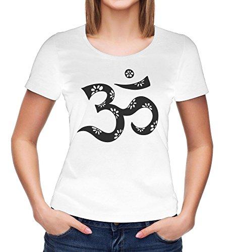Om Symbol T-Shirt   Yoga   Namaste   Lotus   Mandala   Om tee   Chakras   Spiritual Clothing   Meditation Woman t-Shirt Black