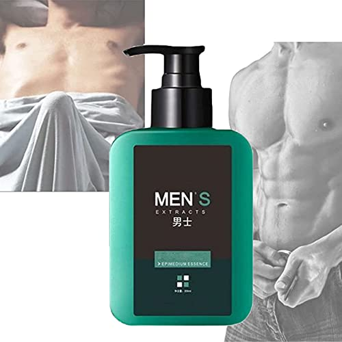 Masculine Pheromone Shower Gel, Men?s Fresh Body Wash, Epimedium Extract Masculine Fragrance Body Wash, Supports Natural Desire, Activate Men Primitive Appeal, Strong, Refreshes (1 pcs)