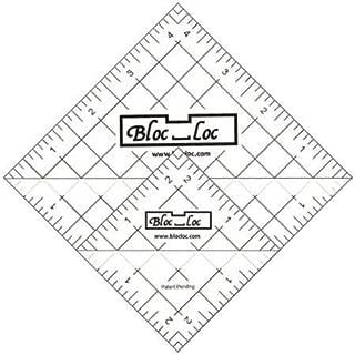 Bloc Loc - Half Square Acrylic Triangle Ruler Set #6, 2.5