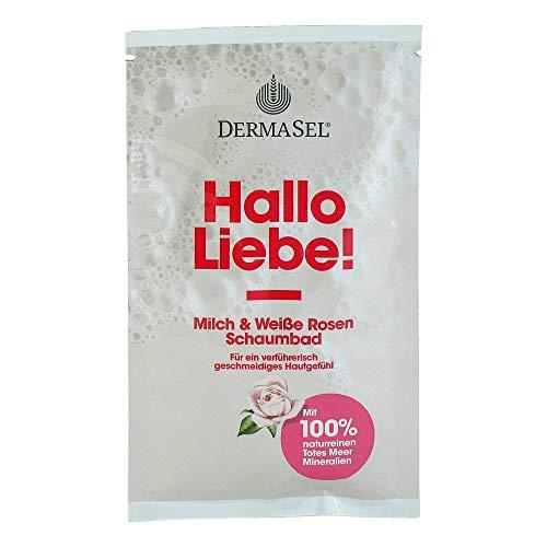 DERMASEL Totes Meer Schaumbad Hallo Liebe 40 ml Bad
