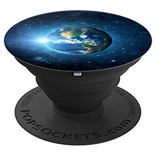 Earth from Space Galaxy PopSockets Grip and Stand for Phones and Tablets