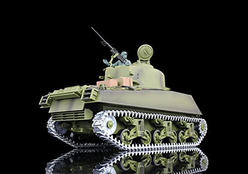 Henglong 1/16 Scale Upgraded M4A3 Sherman RTR RC Tank 3898 Metal Tracks