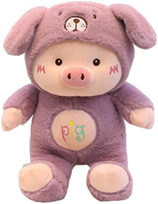NOWPST Kuscheltiere Schwein Plüschtier Hhe 70Cm
