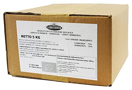 BUCCIA DI ARANCIA CANDITA BIO 5 kg - HORECA (LA BIO IDEA)