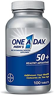 One A Day Men's 50+ Advantage Multivitamins, 4Pack (220 Count Each ) Hk#$kjD One-A-Day-Xr