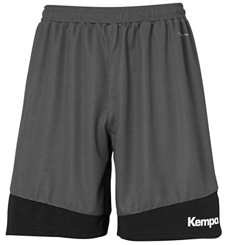 Kempa Herren Emotion 2.0 Shorts, Anthra/Schwarz, XL