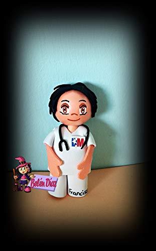 Broche Enfermero o doctor fofucho 10 cms. personalizado