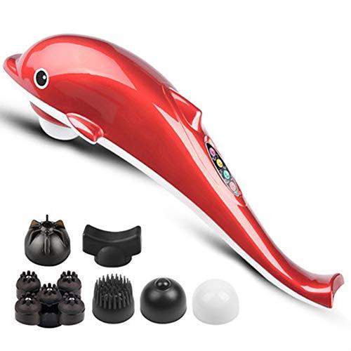 VibrationHandmassagegerät,Klopf Massage In Verschiedene Geschwindigkeitsstufe Muskelschmerzen Linderung Mit 6 Modi Und Intensität Kabelloses Wiederaufladbar