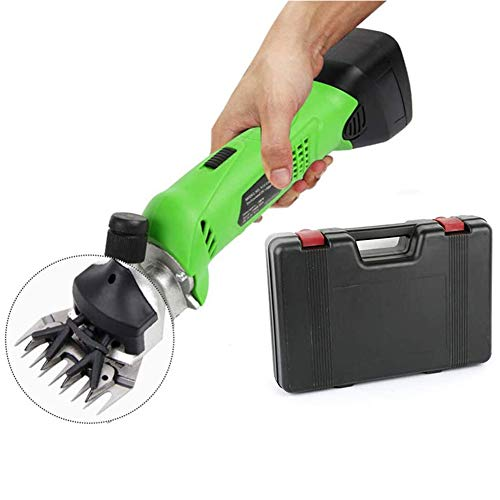 Jnzr Sheep Clippers Cordless, Professional Handheld Heavy Duty Electric...