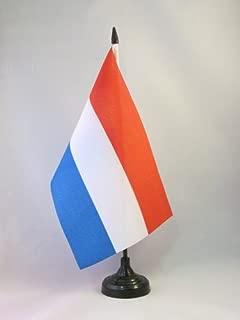 AZ FLAG Bandiera da Tavolo Norvegia 15x10cm Punta Dorata Piccola BANDIERINA Norvegese 10 x 15 cm