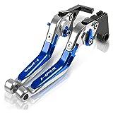 Kit De Embrague Palancas para BMW HP2 Enduro Accesorios De Motocicleta Freno De Mano CNC Palanca De Embrague De Freno Ajustable Mango Plegable Cubre Puños del Manillar Pit Bike (Color : B)