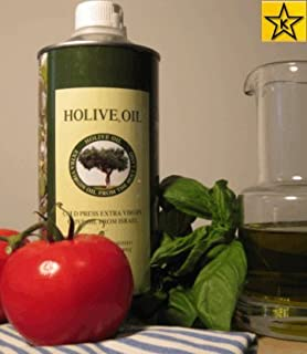 Holive Extra Virgin First Press Olive Oil from the Holy Land 30.4 OZ