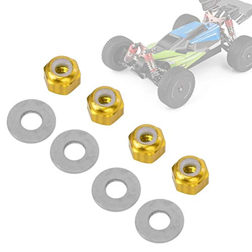 M4 LOCK NUT Nylon 1747 For RC Racing 1//10 Traxxas SLASH 4x4 Stampede