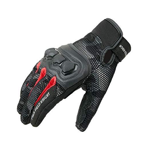 N/A NA Handschoenen 1 paar Motorhandschoenen Ridder Dagelijks Rijden Bescherming Touch Screen Handschoenen Zomer Ademende Mesh Handschoen