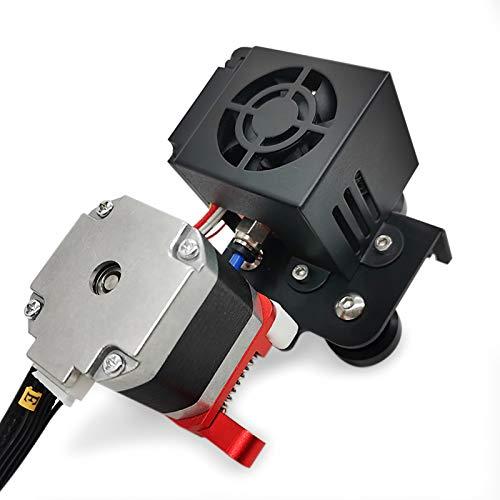 Adaskala Ersatz Neues verbessertes 1,75-mm-Filament-Extruder-Antriebs-Zufuhr-Kit mit 0,4-mm-Düsen-Druckkopf-Motorunterstützung TPU-Filament-Druck für CR-10 CR-10S i3 3D-Drucker, 12 V.