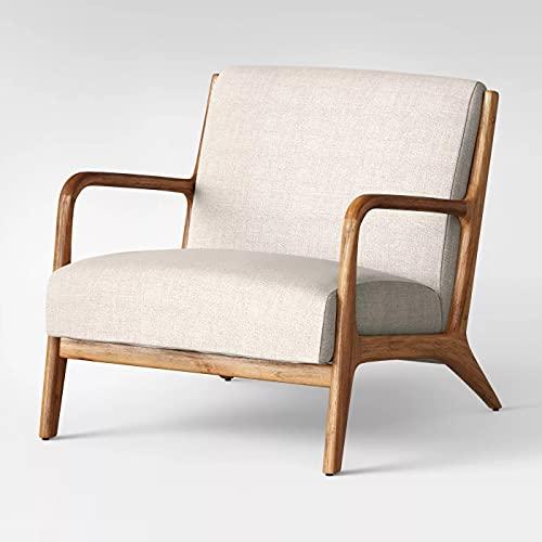Esters Wood Armchair (Husk)