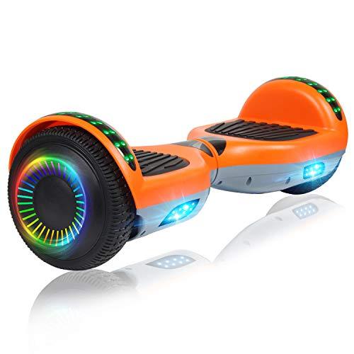 Felimoda 6.5 Inch Hoverboard w/Bluetooth...