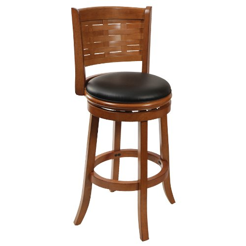 29u0022 Sumatra Swivel Barstool Brush Oak - Boraam