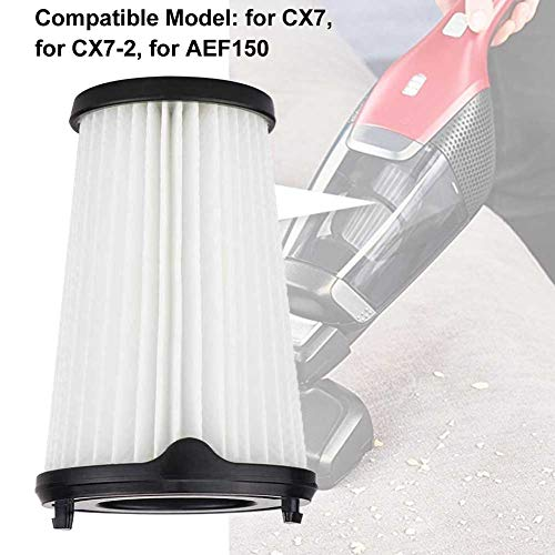 szlsl88 filterset 4 stuks reiniging stof huis gereedschap handmatig duurzaam met borstel stofzuiger onderdelen werkbesparing eenvoudige installatie voor AEG CX7-2