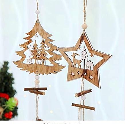 Amazon.it: stella di legno - Ghirlande e corone / Decorazioni ...