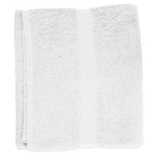 Fripac-Medis - Serviette Éponge - Taille Réduite - Energie-Spar-Économique 30 X 90 cm - Blanc - Lot de 2