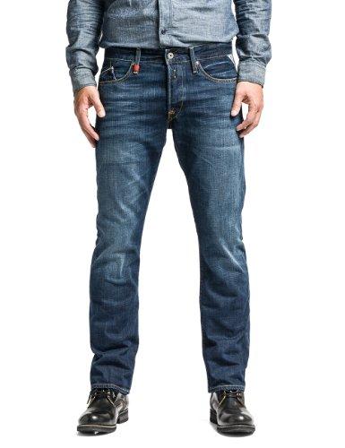 Replay Waitom, Jeans Hombre, Azul (Blue Denim), W33/L32 (Talla del fabricante: 33)